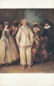 The Italian Comedy Players , 00-10s ; Nicolas LANCRET