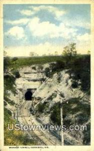 Wabash Tunnel Hannibal MO 1917