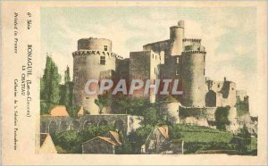 Postcard Old Bonaguil (Lot et Garonne) Le Chateau