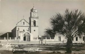 1940s RPPC Church Nuestra Señora de Guadalupe de Reynosa, Tamaulipas Mexico