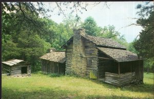 Tennessee CADES COVE Elijah Oliver Place Great Smoky Mountains National Park - C