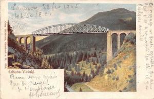 Austria Trisana-Viadukt AK 1905