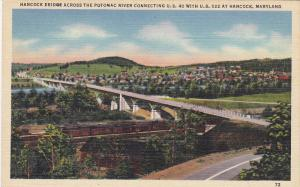 Hancock Bridge across the Potomac River connecting U. S. 40 with U.S. 522 at ...