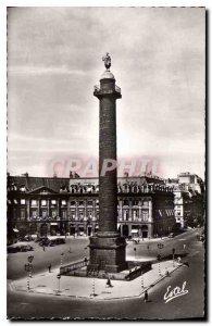 Postcard Old Paris Vendome Column