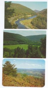 Pennsylvania Scenes Lambs Lookout Loyalsock PA (3 cards)