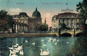 Germany Potsdam Stadtschloss und Palast Hôtel 03.30