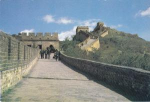 Strolling on the GREAT WALL , China , 50-70s