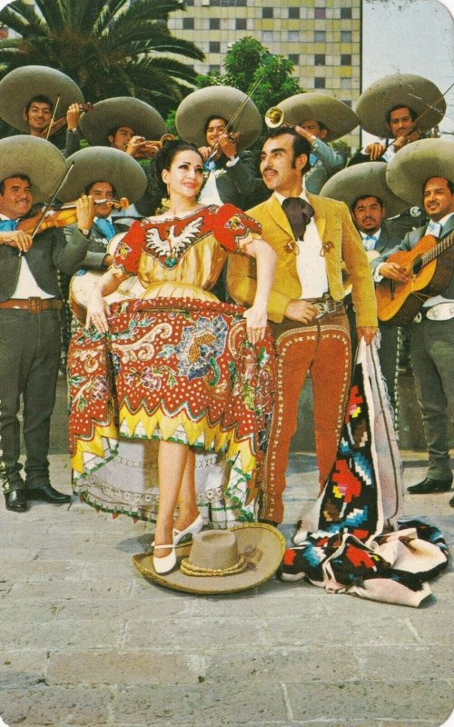Mexico Estado de Jalisco Jarabe Tapatio Mexican Hat Dance 1975 sk1442a