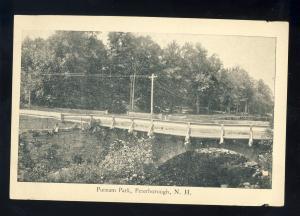 Peterborough, New Hampshire/NH Postcard, Putnam Park