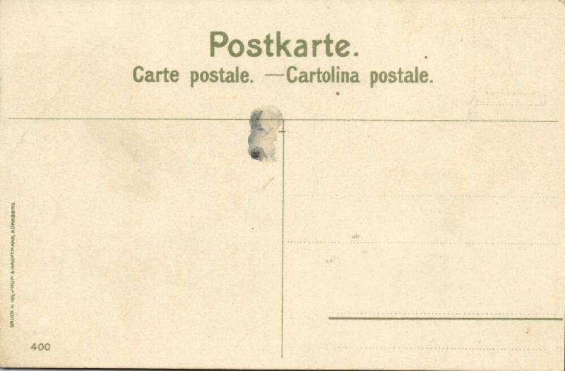 italy, CANDRIA, Lago Lugano (1910s) Artist Signed Manuel Wielandt Nr. 400
