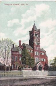 Collegiate Institute, York, Pennsylvania, 10-20s