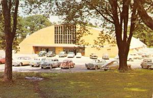 Fairfield Iowa Fry Thomas Memorial Field House Vintage Postcard K50031