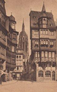 Frankfurt a. Main , Germany , 1900-10s ; Alter Markt mit Dom