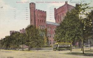BUFFALO, New York, PU-1911; Seventy-Fourth Regiment Armory