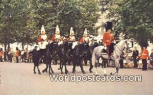 England, United Kingdon of Great Britain London Mounted Guards in the Mall
