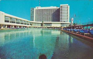 Deauville Hotel Pool Miami Beach Florida