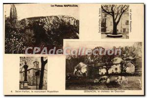 Postcard The Old Saint Vallier Napoleon Napoleon Seranon Plateau monument the...