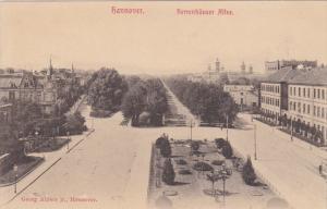 Herrenhauser Allee, HANNOVER (Lower Saxony), Germany, 1900-1910s