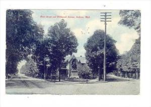 Main Street & Wildwood Avenue, Jackson, Michigan, 1900-1910s