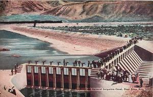 D/B Headgates of Irigation Canal near Reno Nevada NV