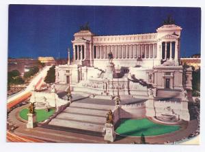 Italy Rome Altar of Nation Vittorio Emanuele Monument Night