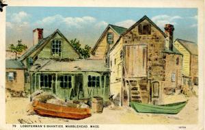 MA - Marblehead. Lobsterman's Shanties