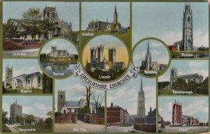 LINCOLNSHIRE Churches , 1912