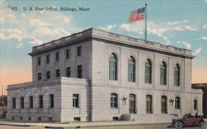 Montana Billings Post Office 1915