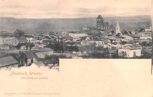 Poland Old Vintage Antique Post Card Neumark, Wesipr Unused