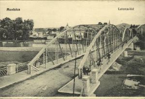 ukraine russia, MUKACHEVE MUNKÁCS MUKAČEVO Мукачеве, Latorica Bridge (1910s)