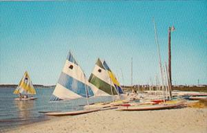 Delaware Rehoboth Beach Sailboats On The Beach