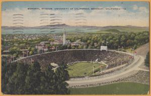 Berkeley, Calif., Memorial Stadium, University of California, Soldiers Mail 1944