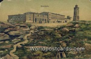 Brocken Germany, Deutschland Postcard  Brocken