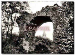 Postcard Modern Boissy-sous-Saint-Yon La Porte Bordeaux and & # 39eglise sain...
