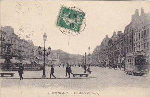 France Bordeaux Les Allees de Tourny 1913