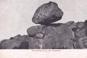 The Rocking Stone Mount Wellington Tasmania Australia Postcard