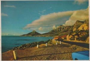 Marine Drive Camps Bay Cape Peninsula South Africa 1960s Postcard