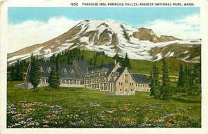 WA, Rainier National Park, Washington, Paradise Inn, Robbins-Tillquist 63452