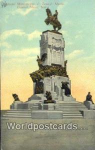 Habana Republic of Cuba Monumento al General Macco  Monumento al General Macco