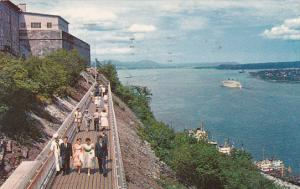 Canada Quebec La Cite Promenade Des Gouverneurs 1963