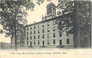 Young Mens Dormitory Kalamazoo College Kalamazoo Michigan