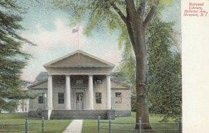 NEWPORT , Rhode Island , 1901-07 ; Redwood Library, Bellevue Avenue
