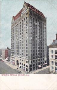 CHICAGO, Illinois, 1900-1910´s; Masonic Temple