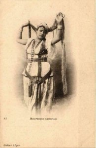 CPA AK Geiser 81 Mauresque danseuse, ALGERIE (769063)