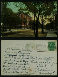 College Dental Surgeons College St Toronto, Slogan CNE  1914