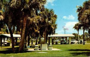 Florida Englewood Beach Picnic Area 1978