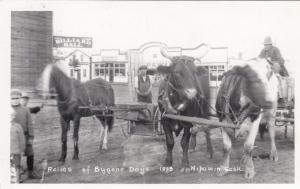 RP: Relics of bygone days, Billiard Hall , NIPAWIN , Saskatchewan , Canada, 1928