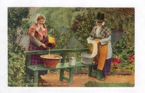 Welsh Ladies, UK, Wales, 30-40s Washing Clothes