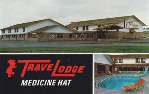 3-Views,  Travelodge Motor Inn,  Medicine Hat,  Alberta,  Canada,   40-60s
