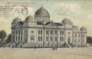 LITTLE ROCK, Arkansas, 1900-10s; New Immanuel Baptist Church